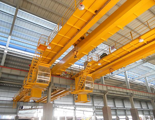 雄峰QD20t-22.5m双梁吊钩桥式起重机