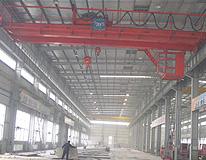 雄峰QD20-18.5m双梁吊钩桥式起重机