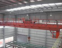 雄峰QD50t-19.5m双梁吊钩桥式起重机