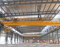 雄峰QE8t+8t-22.5m双梁双小车吊钩桥式起重机