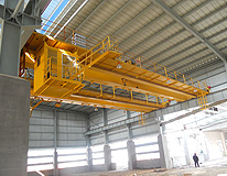 雄峰QD20t-19.5m双梁吊钩桥式起重机