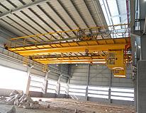雄峰QD32t-19.5m双梁吊钩桥式起重机