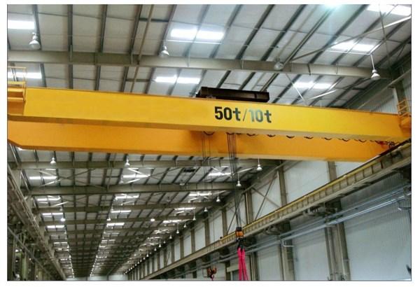 雄峰QD50/10t-22.8m双梁吊钩桥式起重机