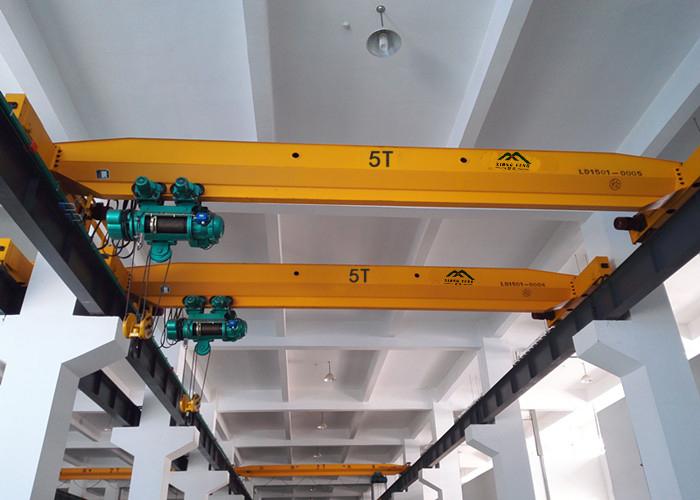 LD5t-13.5m变频单梁起重机