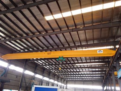雄峰LD10t-19.5m电动单梁起重机