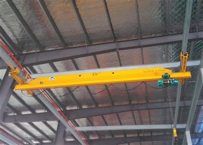 雄峰LX型2.5t-6m电动单梁悬挂起重机